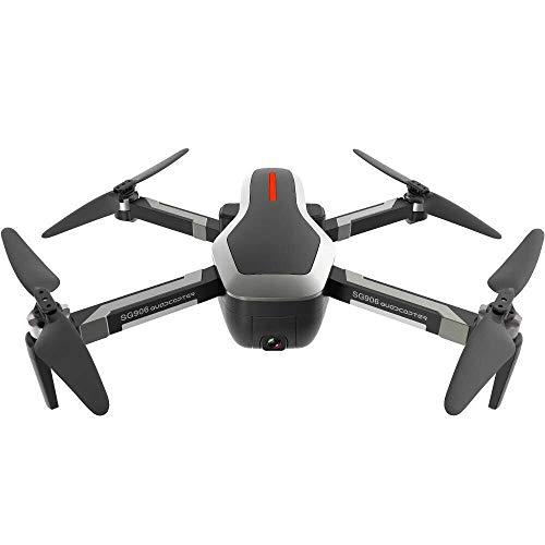 ADLIN Al aire libre, juguetes educativos FPV Rc aviones no tripulados Con HD vídeo en directo de cámara inalámbrica y el modo sin cabeza 6-Axis Gyro Quadcopter plegable Llevar Altura retención y de un