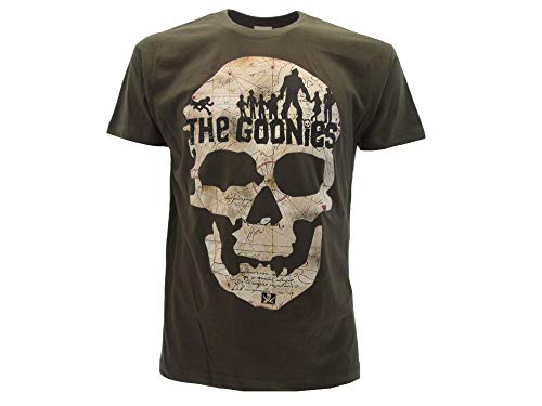 La Camiseta de los Goonies de la Película de Culto Warner Bros Steven Spielberg - Oficial Talla XL