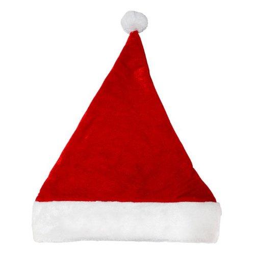 PARTYRama Uni de Noël Deluxe Père Noël Chapeaux Noël Fantaisie Fancy Dress Party Fun Accessoires – Partie d'/ Accessoires