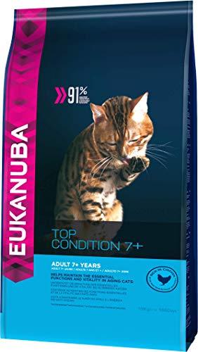 Eukanuba Croquette pour Chat Senior 7+ 10 kg