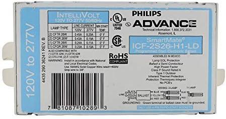 Max 64% OFF Advance ICF-2S26-H1-LD SmartMate 2x26W discount CFL - 4-Pin HPF Ballast