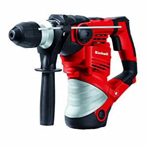 Einhell 4258478 TC-RH 1600 - Martillo Electroneumatico, Potencia 1600 W, Rojo