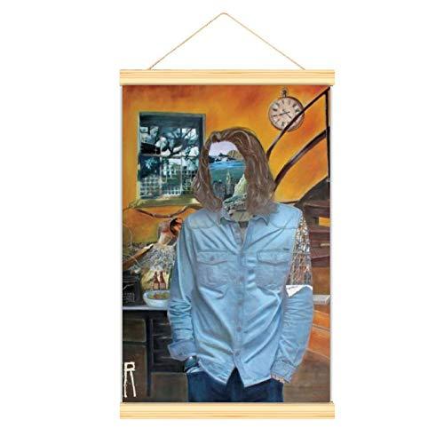 WPQL Lienzo de alta calidad cuelga una imagen Hozier Música Alternativa Irlanda Moderno mural de lona Póster mural Fácil de instalar mural decorativo carteles comedor oficina dormitorio gimnasio