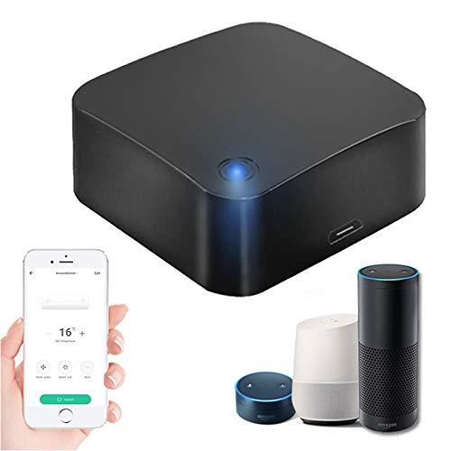 WiFi IR Remote Work con Tuya Smart App, Hub de Control Remoto infrarrojo Universal IR Blaster para domótica Inteligente, Aire Acondicionado, TV, Ventilador, Compatible con Alexa y Google Home