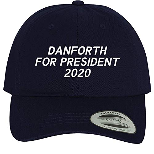 BH Cool Designs Danforth for President 2020 - Comfortable Dad Hat Baseball Cap, Navy, One Size