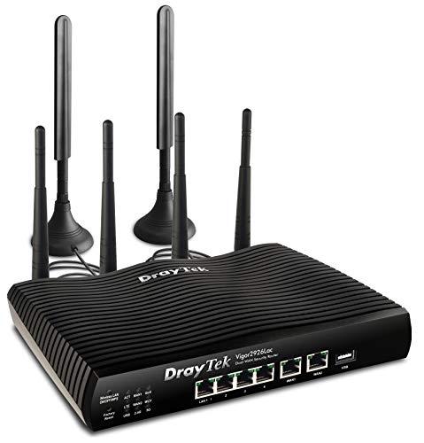 Dray Tek Vigor 2926Lac Dual-WAN Security-Router schwarz