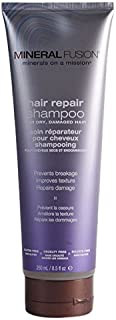 MINERAL FUSION Hair Repair Shampoo for Dry and Damaged Hair, 8.5 Ounce