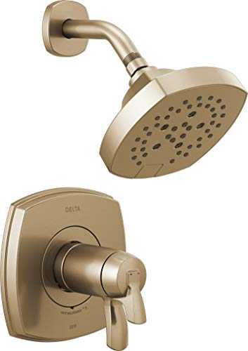 Delta Faucet T17T276-CZ 17 Thermostatic Shower Only, Champagne Bronze