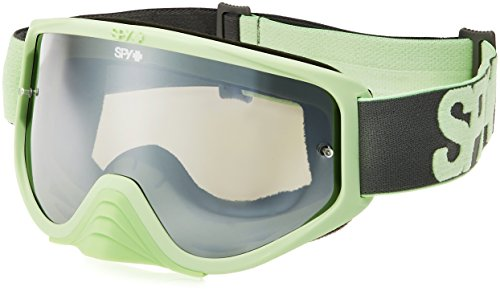 Spy Masque Woot Race Washed Out Green-Smoke w/Silver Mirror + Clear AF VTT Mixte Adulte, Vert