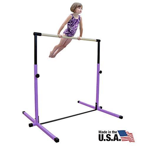 Nimble Sports Purple Junior Adjustable Horizontal Bar - Kids...