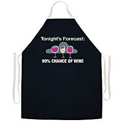 Apron with a Wine Theme