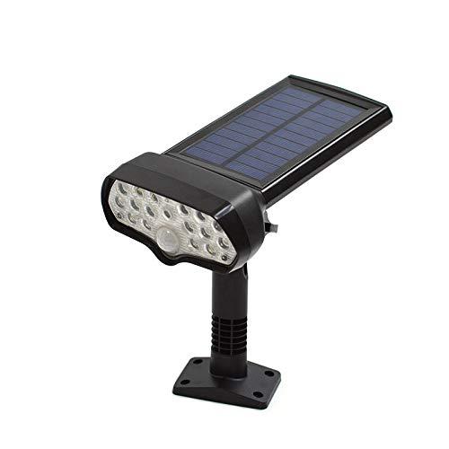 Outdoor waterdichte zonne-energie lamp Beveiliging licht pak voor binnenplaats muur menselijk lichaam inductie lamp