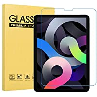iPad Air4 ガラスフィルム iPad Pro 11/iPad Air 10.9/11 インチ (2世代 2020/1世代 2018) 用 強化 保護 ガラス フィルム 飛散防止 指紋防止 気泡防止 撥水撥油 旭硝子 強靭9H 高透明率 ピタ貼り