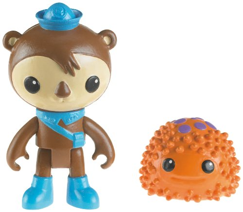 Mattel Octonauts Figura & Creature Paquete Shellington