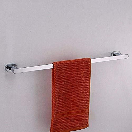 HYY-YY Badkamer Rekken bar bar Rekken hanger Single rack koper chromen afwerking muurbevestiging geboorde opzettende 60cm