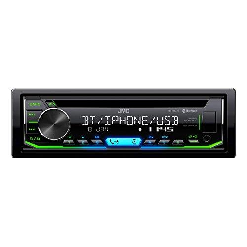 JVC KD-R992BT - Receptor de CD con función Manos Libres Bluetooth y transmisión de Audio, Color Negro