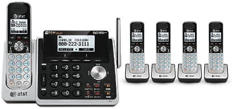 AT&T TL88102 + (4) TL88002 5 Handset Cordless Phone (2 Line) DECT 6.0 photo