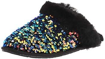UGG Scuffette Ii Stellar Sequin Slipper Black Size 5