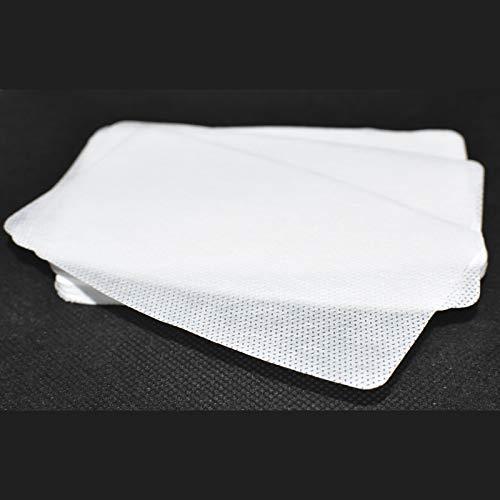 Filtro TNT mediano/grande para mascarilla 12x8cm. Muy transpirable, hidrofugo.100 capas de tejido no tejido de 50gr,