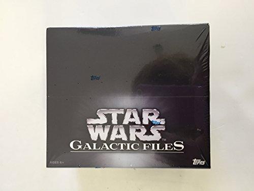 2012 Topps Star Wars Galactic Files Retail Box image