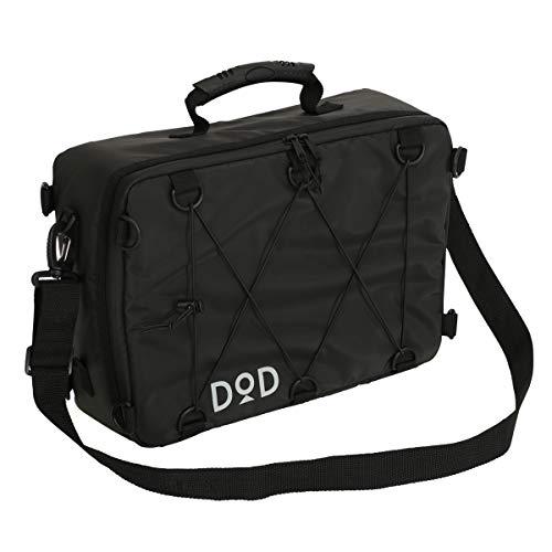 DOD(ディーオーディー) ソフトくらこ(10) 10L 極厚断熱材 ソフトクーラーバッグ ツーリング や ソロキャンプ や フェス に 薄型形状 CL1-720-BK