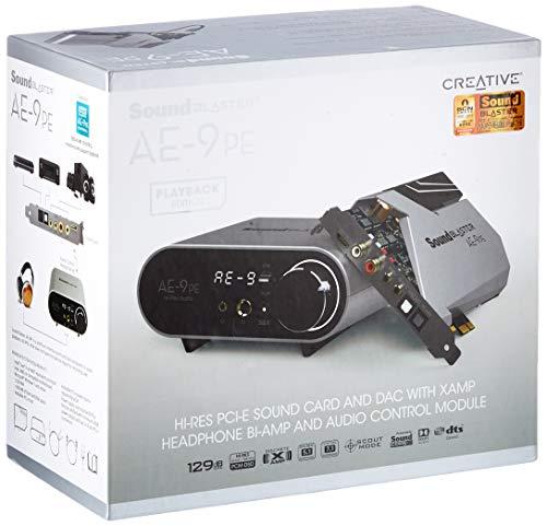 Creative Sound Blaster Ae-9 - Tarjeta de Sonido de Gama Alta - DAC/PCIe