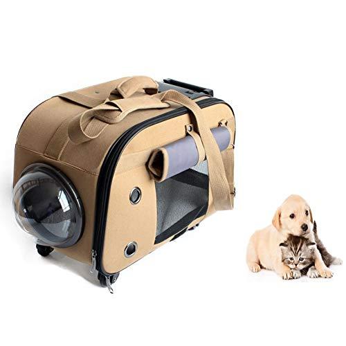 Pet Carrier Handbag Dog Carrier Tragbare Haustier Katze Messenger Rucksack Carrier Outlet Kleine Reisetasche für Hund Weiche atmungsaktive Seite