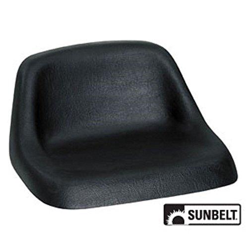 A & I Lowback Universal Lawn Mower Seat - Black, Model Number LMS2002