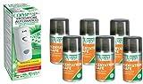 COPYR | Kenyatrin Safe e Copyrmatic Combi: Insetticida Pronto all'Uso Contro Insetti Volanti, Mosche e zanzare - bombola 250 ml x 6 Pezzi + Erogatore Automatico
