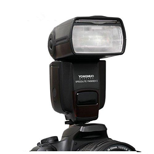Yongnuo YN-565EX II - Flash con brazo para Speedlite Canon 5D 7D 60D 50D LF246,