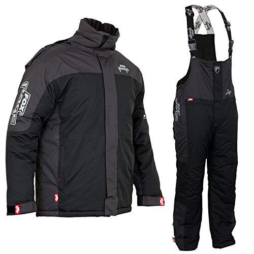 Fox Rage Winter Suit - Thermoanzug für Angler, Winteranzug für Raubfischangler, Schneeanzug zum Angeln bei kalten Temperaturen, Größe:L