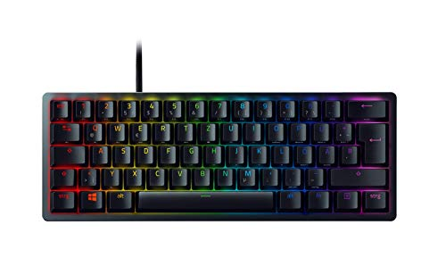 Razer Huntsman Mini (Purple Switch) – Teclado Compacto 60% para Gaming con...