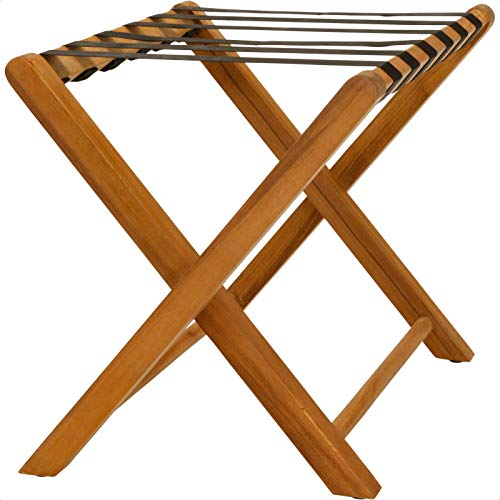 Big Save! Palaney Millman Folding Wood Luggage Rack
