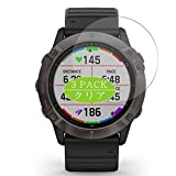 [3 Pack] Synvy Screen Protector, Compatible with GARMIN fenix 6X Pro Solar Edition TPU Film Protectors [Not Tempered Glass]
