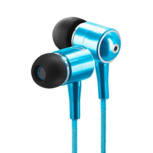 Energy Sistem Earphones Urban 2 Cyan Cuffie intrauricolari ultraleggere(magnete al neodimio e suono straordinario per smartphone o lettori ) Ciano