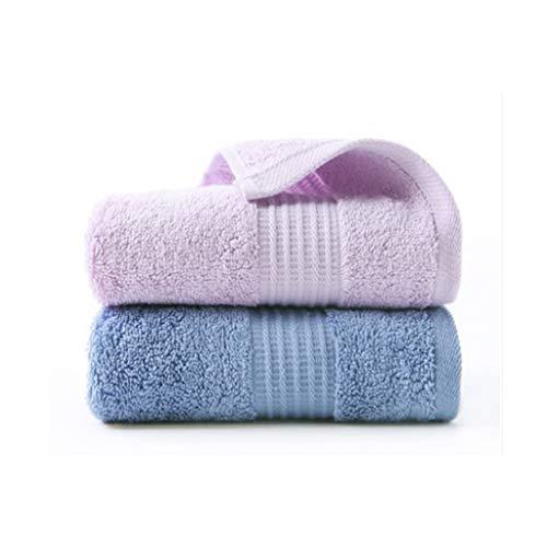 XYZMDJ 2 Paquetes de Toallas, Lavado de Cara de algodón, Toallas for Adultos domésticos, toallitas de Cara de algodón absorbentes Suaves (Color : E)