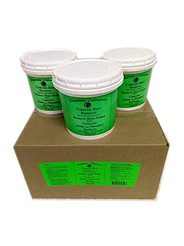 Singerman Laboratories Rust Remover for Concrete (Case of 3 makes 3 gallons)