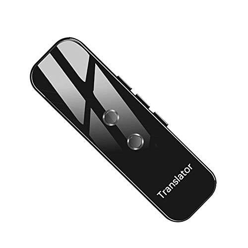 Language Translator G6 Traductor portátil de audio Translaty Enence inteligente instantánea voz en tiempo real Idiomas Traductor,Negro