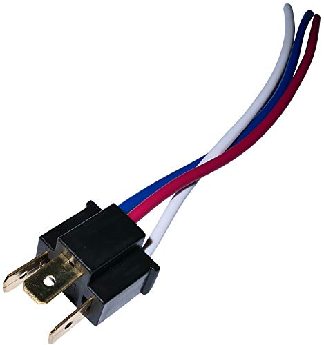 AERZETIX: Sostenedor de Cable del Adaptador para Bombillas H4 de Coche C1272