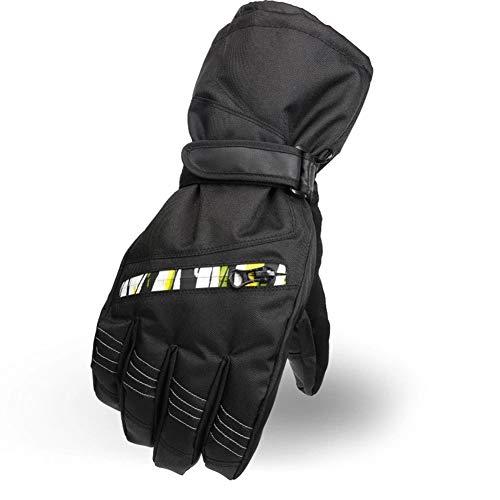 LYJNBB Gants de Ski imperméables, pour Hommes avec Poche Gants Thermiques pour l'hiver, Convient aux Hommes Ski Alpin Snowboard Vélo Escalade Sports de Plein air, 4 Couleurs,Yellow