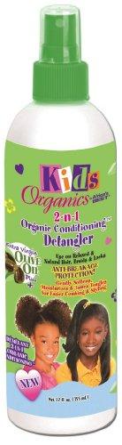 Meilleur Enfants de l'Afrique Detangler organique 2-N-1 355 ml Pompe (pack de 2)