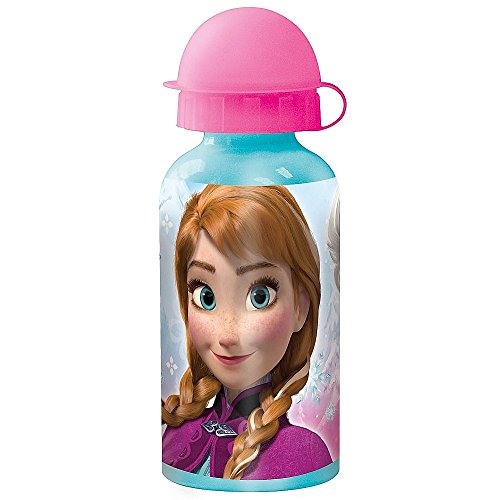 Aluminium drinkfles 400 ml   Disney ijskoningin   Frozen   Sport aluminium fles