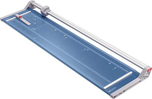 Dahle 558 Papierschneider Modell 2020 (bis DIN A0, 7 Blatt Schneidleistung, 0,7 mm Schnitthöhe) blau