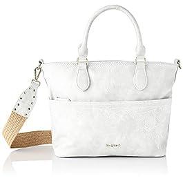 Desigual PU Hand Bag, Handbag Femme, Taille Unique