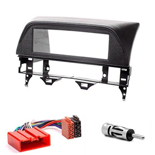 CARAV 11-121-15-6 - Mascherina per autoradio 1-DIN in Dash Set per Mazda (6), Atenza 2002-2007 (Black) + cavo adattatore ISO e antenna