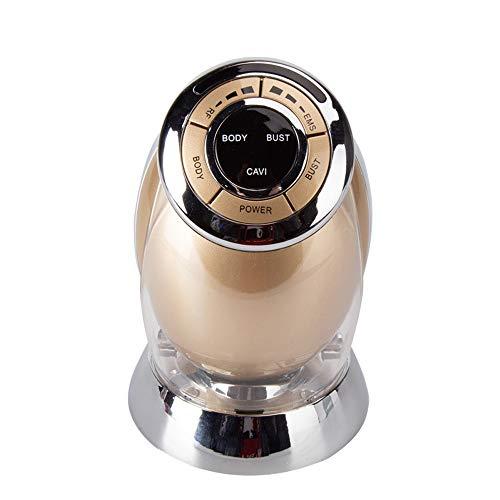 Preisvergleich Produktbild NINGXUE 3-in-1 EMS Ultraschall-Gesichtsschönheits-Körp... zur Entfernung von Fett,  zur Reduzierung von Fett und zur Straffung der Haut, Gold