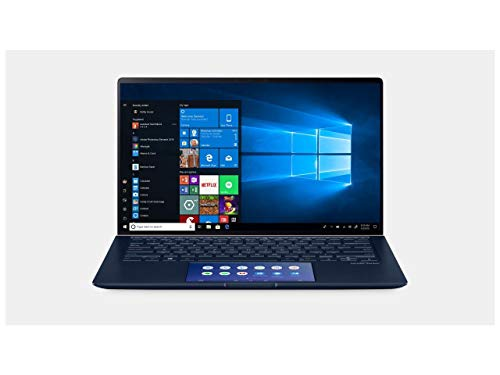 ASUS Laptop ZenBook UX434FL-Q52P-CB Intel Core i5 8th Gen 8265U (1.60 GHz) 8 GB LPDDR3 256 GB SSD NVIDIA GeForce MX250 14.0' Windows 10 Pro (Renewed)
