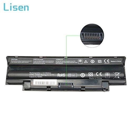 Qiouzw Laptop Battery Replacement for Dell J1KND,Dell Inspiron 3520 3420 N5010 N7110 N7010 N5110 N3010 N4110 N4010 N5030 N5050 N5010D 13R 14R 15R 17R M5110 M4110,fit 4T7JN 04YRJH 07XFJJ 312-0233