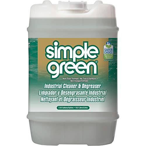 Simple Green, SMP13006, Industrial Cleaner/Degreaser, 1 / Each, White