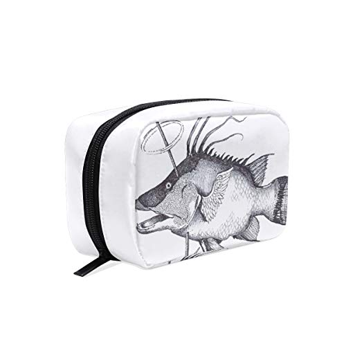 Trousse de maquillage Fisherman Hunter Cosmetic Pouch Clutch